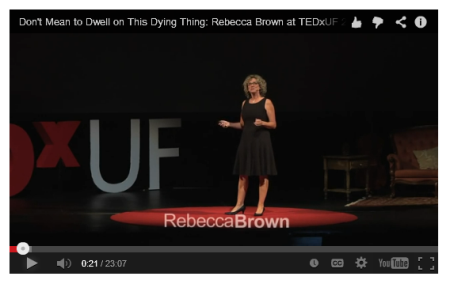 Rebecca Brown TED Talk